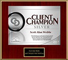 Client Champion Silver Badge